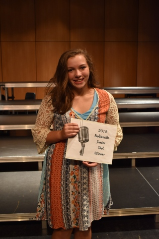2018 Noblesville Junior Idol Winner ~ Josie Flinchum