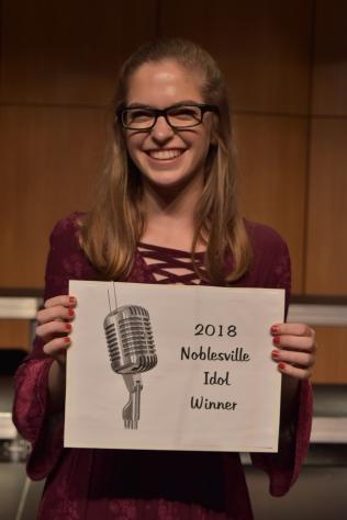 2018 Noblesville Idol Winner ~ Kari Verdeyen